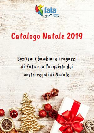 Copertina Catalogo Natale 2019